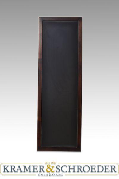Schreibtafel Kreidetafel Wenge, dunkel 1700 x 550 mm