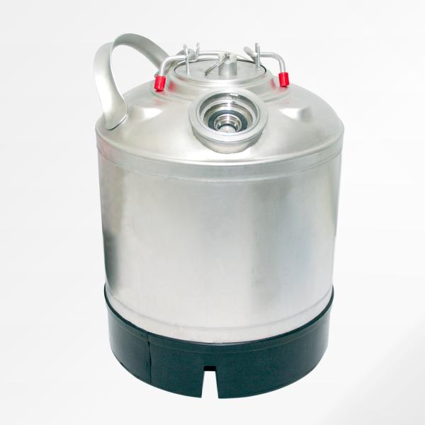 KEG-Reinigungsbehälter 9 Ltr. für Flachzapfkopf